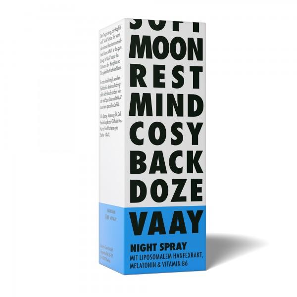 VAAY Night CBD Melatonin Spray mit Hanfextrakt 30ml