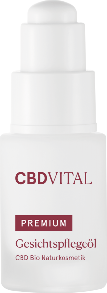 Gesichtspflegeöl PREMIUM CBD Bio Naturkosmetik 20ml