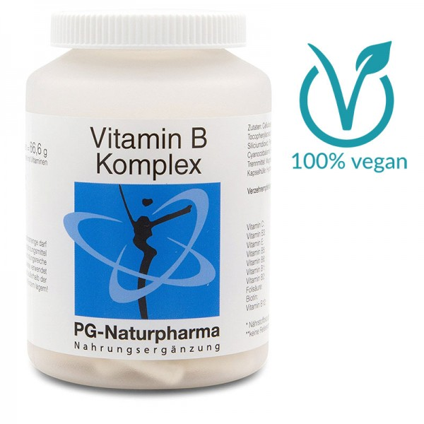 Vitamin B Komplex Kapseln 120 Stück