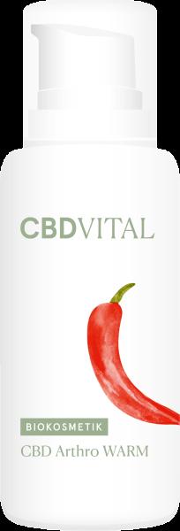 CBD Arthro WARM Wärmendes Regenerationsgel 100ml