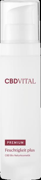 Feuchtigkeit plus PREMIUM CBD Bio Naturkosmetik 50mg